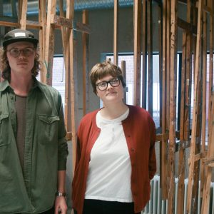 Intervju med Finn & Nora, två studerande på Konst & design