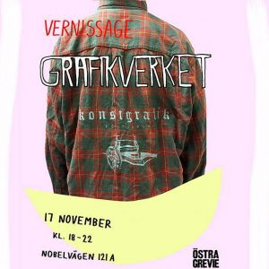 Vernissage: Östra Grevies Grafiklinje, 17. november
