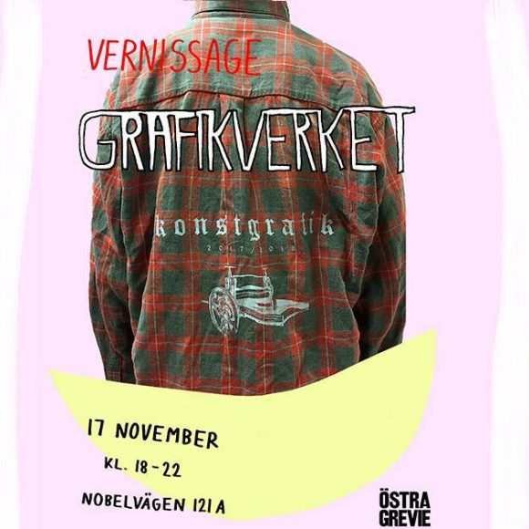 Vernissage: Östra Grevies Grafiklinje, 17. november