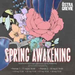 Musikteaterutbildningen presenterar Spring Awakening – en dramatisk vårföreställning du inte vill missa!
