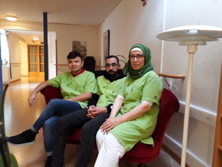 Janali, Amjad och Fatima på Harakärrsgården