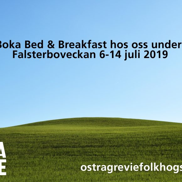 Nu kan du boka rum hos oss under Falsterbo Horse Show!