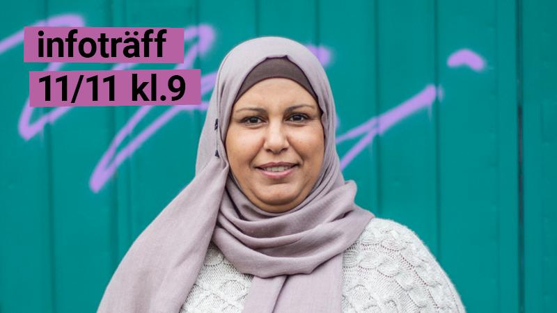 Infoträff SFI Yrkesinriktning 11/11 kl 09.00