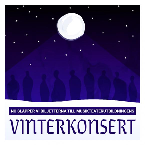 Årets Vinterkonsert – biljetterna är släppta!