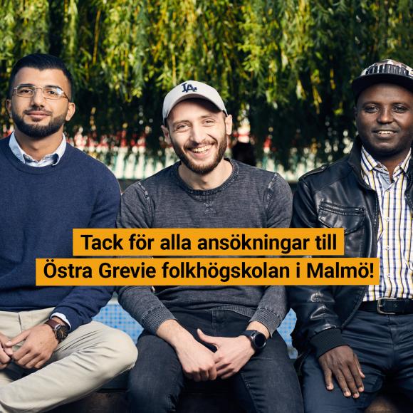 Alla platser fyllda – vi stänger ansökan till vt 2021 på vår skola i Malmö!