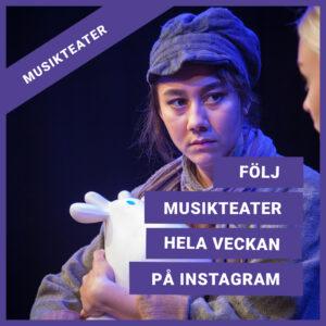 Text: Följ musikteater på Instagram